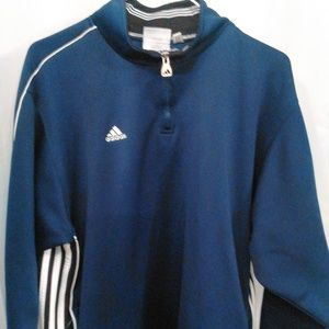 Adidas Athletic Pro Style Sport Pullover Jacket XL